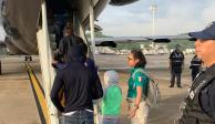 México deporta a 108 migrantes hondureños indocumentados