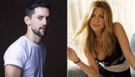 Sorprende imagen de Luis Gerardo Méndez con Jennifer Aniston