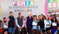 Del Mazo inaugura Feria del Emprendimiento en el Estado de México