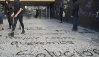 Acusa UNAM que en actos vandálicos en CU participa gente externa