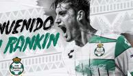 Van Rankin deja Chivas y llega a Santos para el Clausura 2020