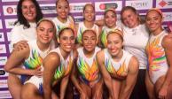 México se cuelga el bronce en su rutina de natación artística