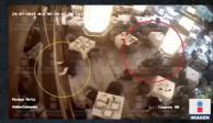 Revelan videos inéditos de ejecución dentro de restaurante en Plaza Artz