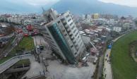 VIDEOS: Terremoto de 6.1 grados sacude Taiwán y deja grandes daños