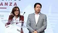 Pide Yeidckol Polevnsky aplazar elección del líder nacional de Morena
