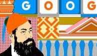 Doodle rinde homenaje a Antonio Rivas, arquitecto del Ángel de la Independencia