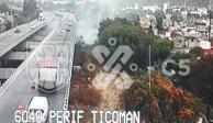 Registran tres incendios forestales en la Ciudad de México