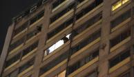 Incendio en edificio de Tlatelolco deja un hombre muerto