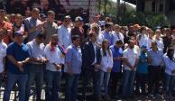 Juan Guaidó anuncia que llegará ayuda humanitaria a Venezuela