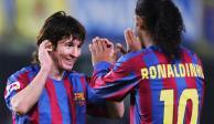 Para Ronaldinho, Messi es el mejor de la actualidad, no de la historia