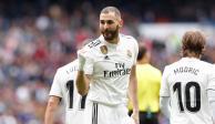 Con triplete de Benzema, Real Madrid vence al Athletic de Bilbao