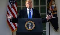 Prepara Trump su primer veto presidencial ante ofensiva demócrata