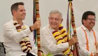 Gobernador Alejandro Murat cierra filas con AMLO en favor de la paz