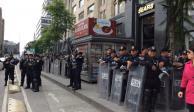 Arranca operativo de seguridad por festejos patrios en el Zócalo