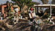Por falta de espacio en panteones para víctimas de Tlahuelilpan, gobierno compró terrenos