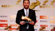 ¡Histórico! Lionel Messi gana su sexta Bota de Oro