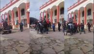 Detienen a 11 hombres que arrastraron a edil en Chiapas