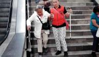 Le faltó tiempo al Metro; escaleras no están listas