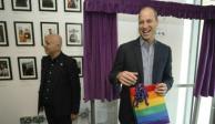 Afirma príncipe Guillermo que no tiene problema si uno de sus hijos es gay