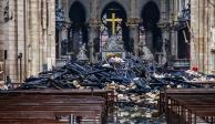 La Catedral de Notre Dame sigue en riesgo de colapsar