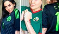 Celia Lora deleita a los aficionados del América en el Estadio Azteca