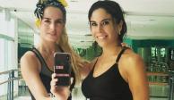 Paola Rojas presume foto con la modelo Tania Ruiz