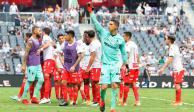 Necaxa vence al Monterrey y suma su quinta victoria