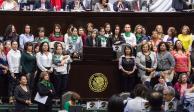 Dominan mujeres en 53% de congresos; dirigen 28%