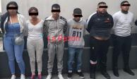 Detienen a extorsionadores de La Unión Tepito que traían drogas y armas