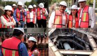 Para evitar inundaciones, construirán colector en Indios Verdes