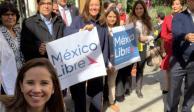 """Margarita Zavala registra a """"Libre"""" ante el INE; busca que sea un partido político"""