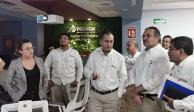 Octavio Romero visita instalaciones de Abkatún Pol Chuc