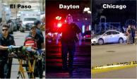 Texas, Ohio e Illinois, blanco de tiroteos en un fin de semana cruento en EU
