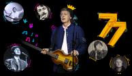 Sir Paul McCartney celebra este martes 77 años de edad
