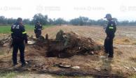 FOTOS: Localizan y acordonan toma clandestina en Otumba, Edomex