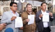 "Perredistas denuncian a Jaime Bonilla por presuntos ""moches"""