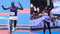 Dominan kenianos Maratón de la Ciudad de México