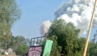 Explosión de polvorín en Tultepec deja 1 muerto y 4 heridos