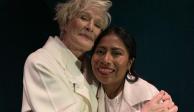 Glenn Close reconoce el talento de Yalitza en la víspera de los Oscar