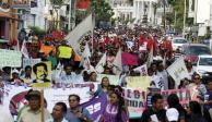 Primero CNTE de Michoacán y ahora sección 22 de Oaxaca se va a paro