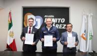 Firma Benito Juárez convenio único en CDMX para capacitar a policías