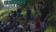 Migrantes en Tapachula decidirán su ruta hacia la frontera norte