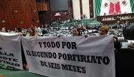 Chocan oposición y Morena por ampliación de presidencia en San Lázaro