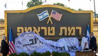 """Inauguran colonia judía """"Altos de Trump"""" en el Golán"""