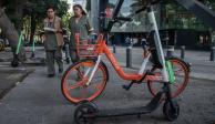 Sheinbaum alista mecanismo para retirar bicicletas y monopatines sin anclaje
