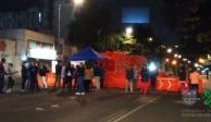 Bloquean avenida Cuauhtémoc para protestar contra obras de Metrobús