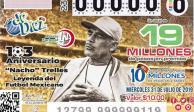 Loteria Nacional presenta billete en homenaje a Nacho Trelles