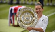 Simona Halep vence a Serena Williams y se corona en Wimbledon
