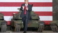 Trump destaca que México, después de muchos años, está deteniendo a migrantes