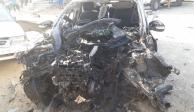 Explosión de coche, por disputa entre criminales: Fiscalía de Guerrero